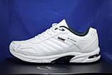 Мужские белые кроссовки больших размеров Restime 46,47,49, фото 2