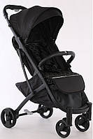 Прогулочная коляска YOYA LUX, Черная (модель 2020 года)