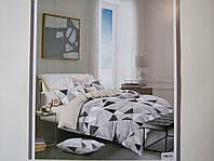Постельное белье полисатин двуспальный евро ELWAY EW091