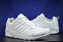 Чоловічі класичні осінні білі кросівки Restime