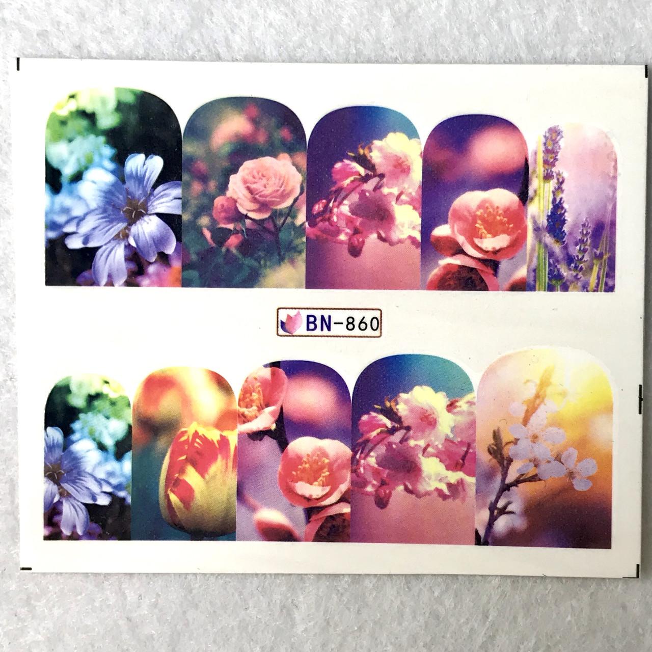 Слайдер Flowers BN 860