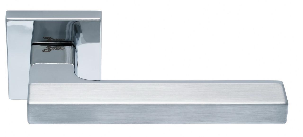 Ручка SAFITA COMBO, SC/CP - матовый хром/хром