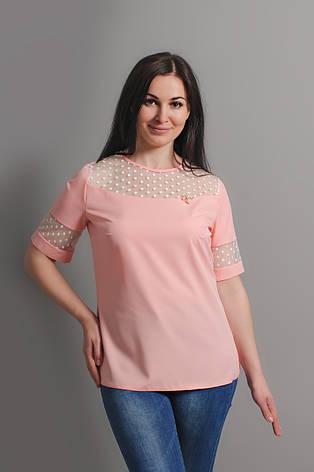 """Ніжна блуза """"Лілія"""", фото 2"""