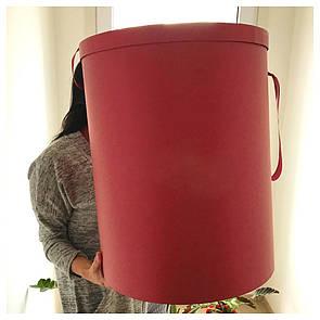 Шляпная круглая коробка d= 40 h=50 см