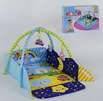 Коврик для младенца 5 мягких подвесок
