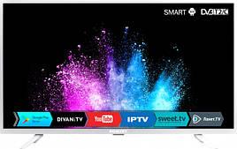 """Телевизор Romsat экран 40"""" 904х521х82 мм SMART TV 40FSK1810T2 White"""