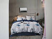Постельное белье полисатин двуспальный евро ELWAY EW093