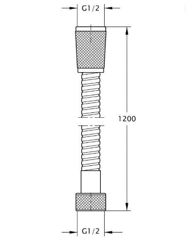 TZ Шланг 800 (1,50 m)