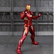 Фигурка игрушка Железный Человек Марк 46 Мстители, костюм броня