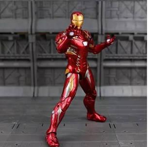 Фигурка игрушка Железный Человек Марк 46 Мстители, костюм ...
