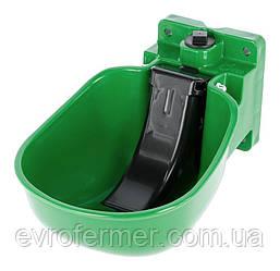 Пластиковая чашечная поилка Kerbl K50 для КРС и лошадей