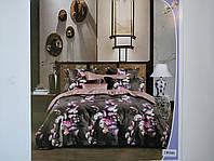 Постельное белье полисатин двуспальный евро ELWAY EW095