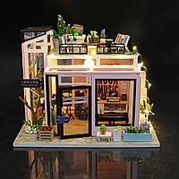 3D Румбокс Рок Студия - Кукольный Дом Конструктор / DIY Doll House от CuteBee