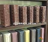 Кирпич облицовочный пустотелый ECOBRICK скала, фото 4
