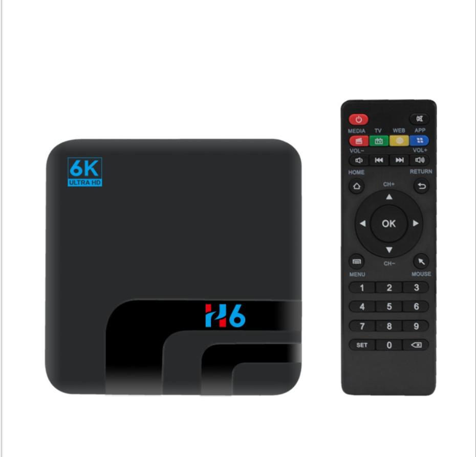 Приставка смарт тв H6 TV BOX WI Fi SIM CARD 4Gb + 32Gb