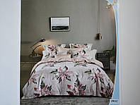 Постельное белье полисатин двуспальный евро ELWAY EW097