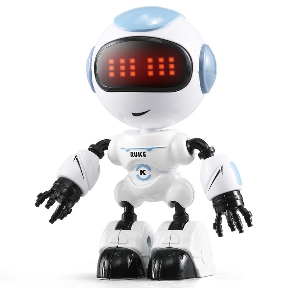 Міні робот-компаньйон JJRC R8 Ruke Luke Біло-блакитний (JJRC-R8B)