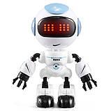 Міні робот-компаньйон JJRC R8 Ruke Luke Біло-блакитний (JJRC-R8B), фото 2