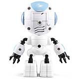 Міні робот-компаньйон JJRC R8 Ruke Luke Біло-блакитний (JJRC-R8B), фото 6