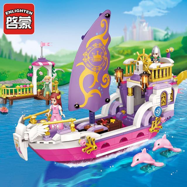 """Конструктор Brick(Qman) 2609 """"Корабль принцессы"""""""
