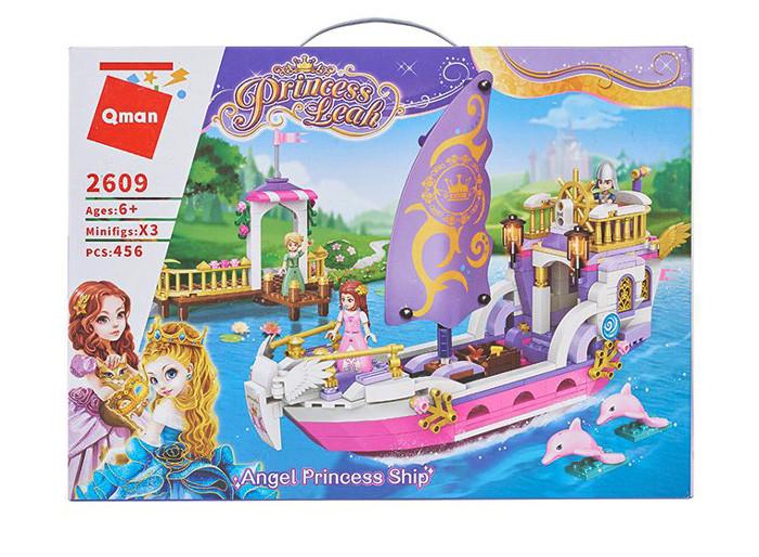 """Конструктор Brick(Qman) 2609 """"Корабль принцессы"""", 456 деталей"""