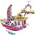 """Конструктор Brick(Qman) 2609 """"Корабль принцессы"""", 456 деталей, фото 4"""