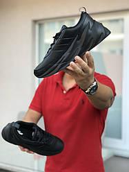 Кроссовки мужские Адидас шаркс черные осень повседневные (реплика) Adidas Sharks Black