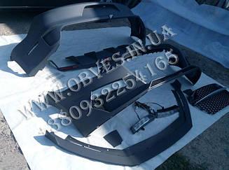 Обвіс Ford Mustang VI стиль GAS Rocket (під подвійні насадки з обох сторін)