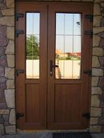 Металопластикові вхідні двері KBE 58 mm