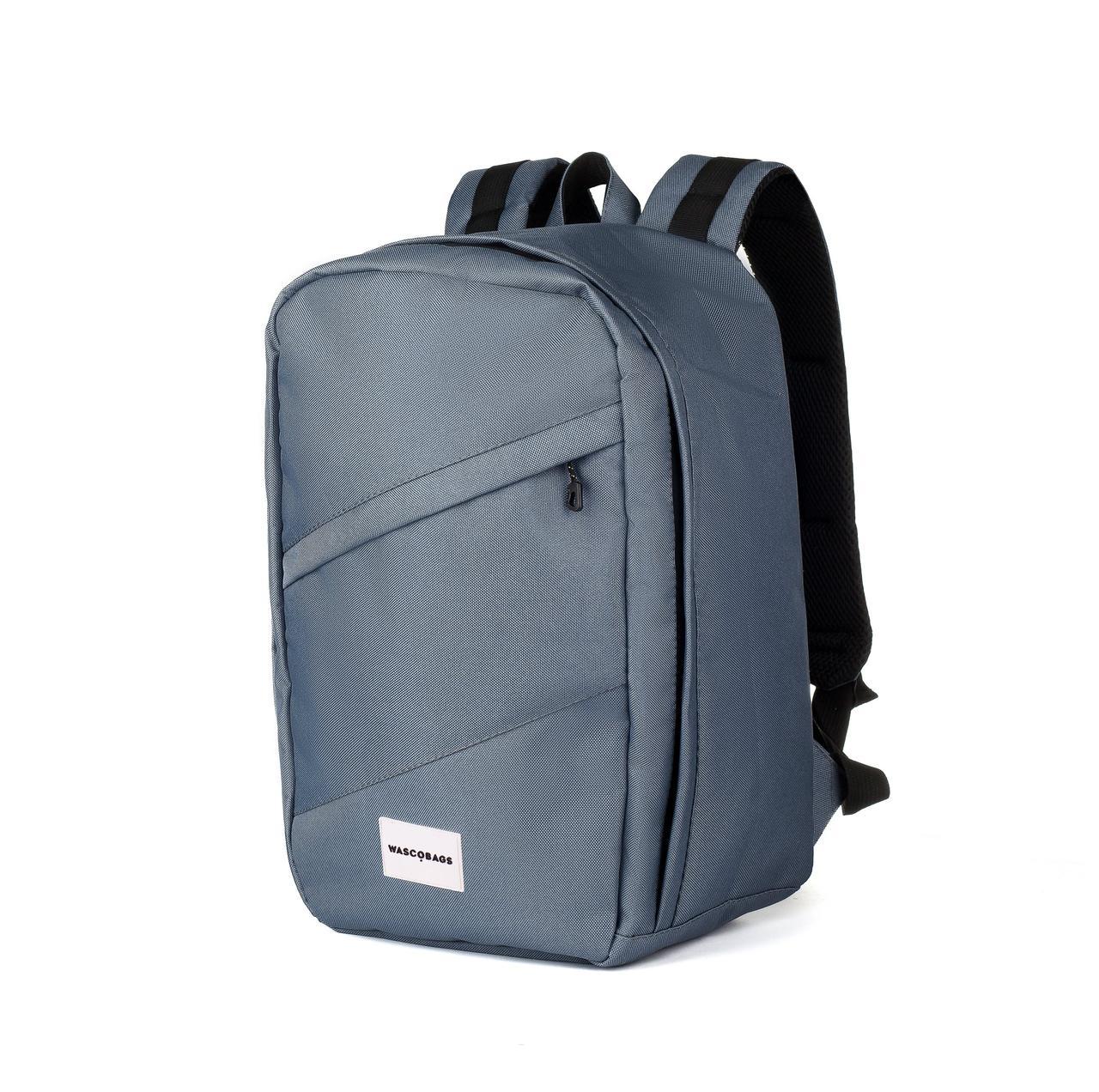 Рюкзак для ручной клади Wascobags 40x20x25 RW Графит