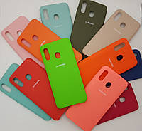 Чехол накладка Silicone Case Samsung A30