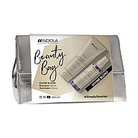 Набор для светлых волос Indola Innova Divine Blond Kit (шамп/250ml + спрей/150ml + сумка)