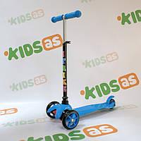 Самокат детский iTrike BB 3-013-4-D MINI Blue Гарантия качества Быстрая доставка