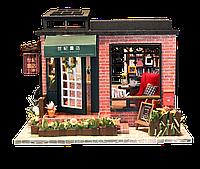 3D Румбокс Книжный Магазин - Кукольный Дом Конструктор / DIY Doll House от CuteBee