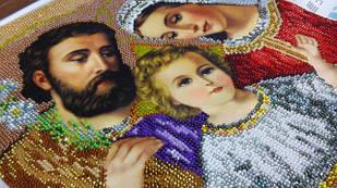 ВИШИВКА бісером: ікони та релігійна тематика, атрибутика
