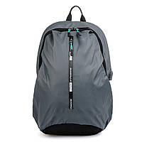 Рюкзак городской с USB-портом Sky-Bow 1021 серый