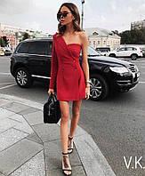 Комбинированное платье из двух частей