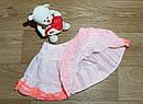 Нарядная пышная фатиновая юбка с рюшами Crazy8 (США) (Размер 5Т), фото 2