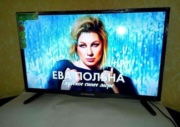 🔲 Телевизор Samsung диагональ 26/ дюймов с Т2 + 12В/ LCD, LED-подсветка. Гарантия 1 год