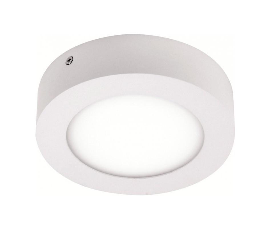 Светодиодный светильник 12w 4100K круг накладной