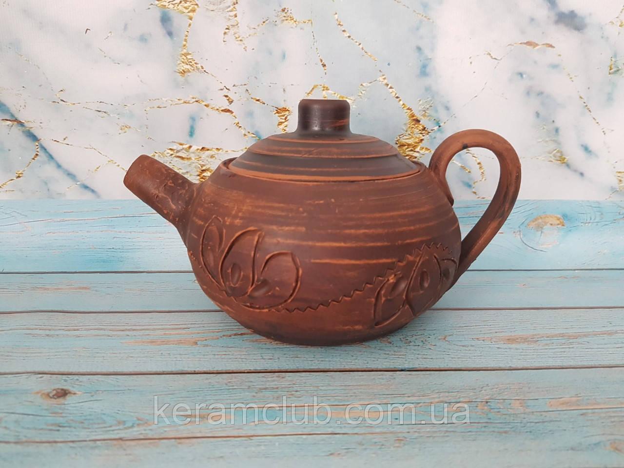 "Глиняный чайник ""КерамКлуб"" 600 мл"