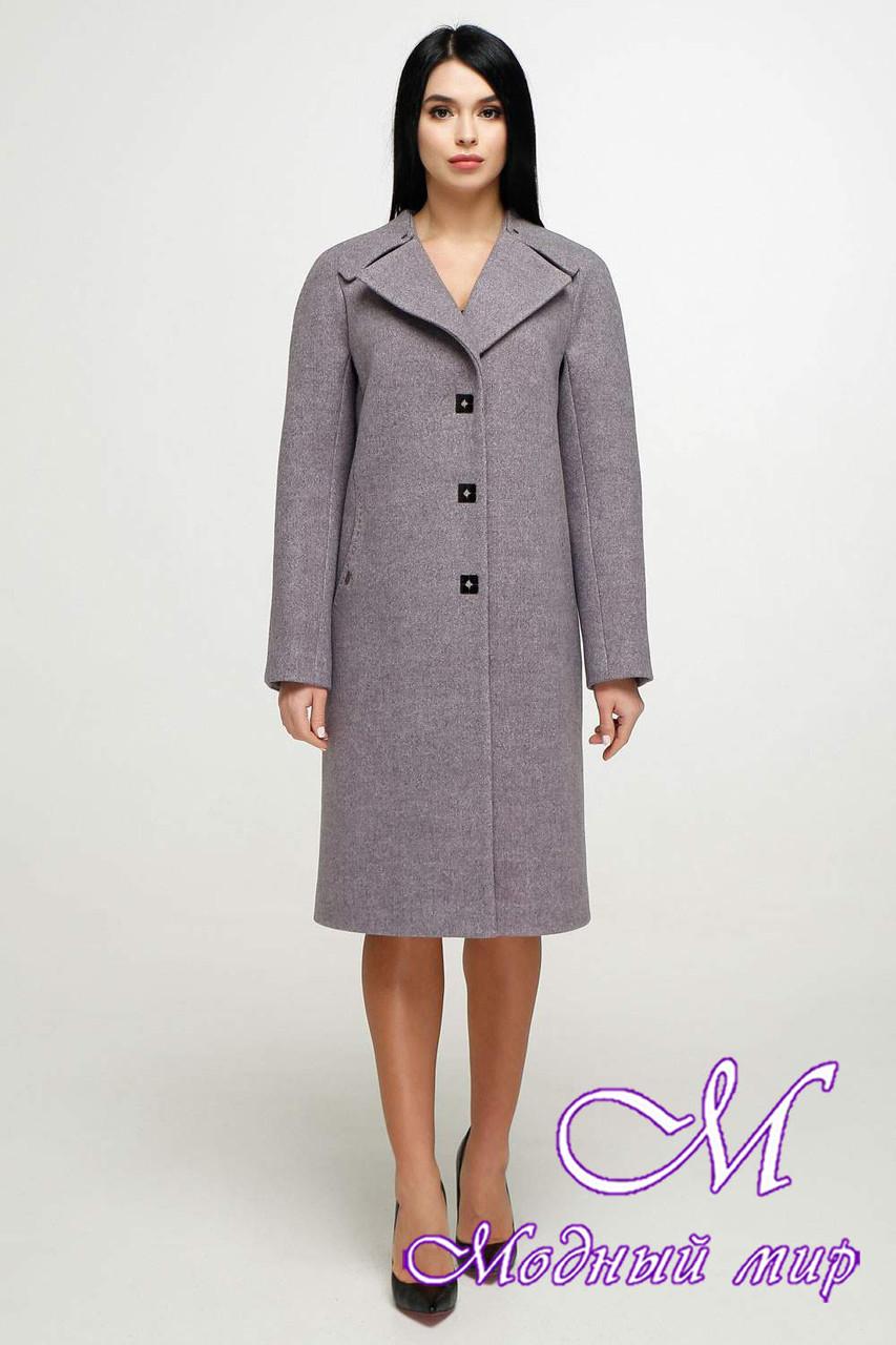 Элегантное женское демисезонное пальто (р. 44-54) арт. 1187 Тон В4