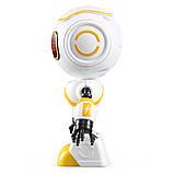 Міні робот-компаньйон JJRC R9 Ruby Luby Біло-жовтий (JJRC-R9Y), фото 3