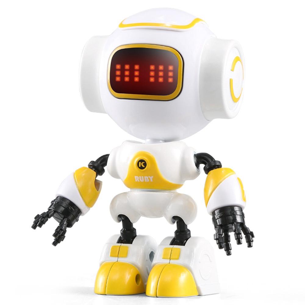 Міні робот-компаньйон JJRC R9 Ruby Luby Біло-жовтий (JJRC-R9Y)