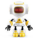 Міні робот-компаньйон JJRC R9 Ruby Luby Біло-жовтий (JJRC-R9Y), фото 2