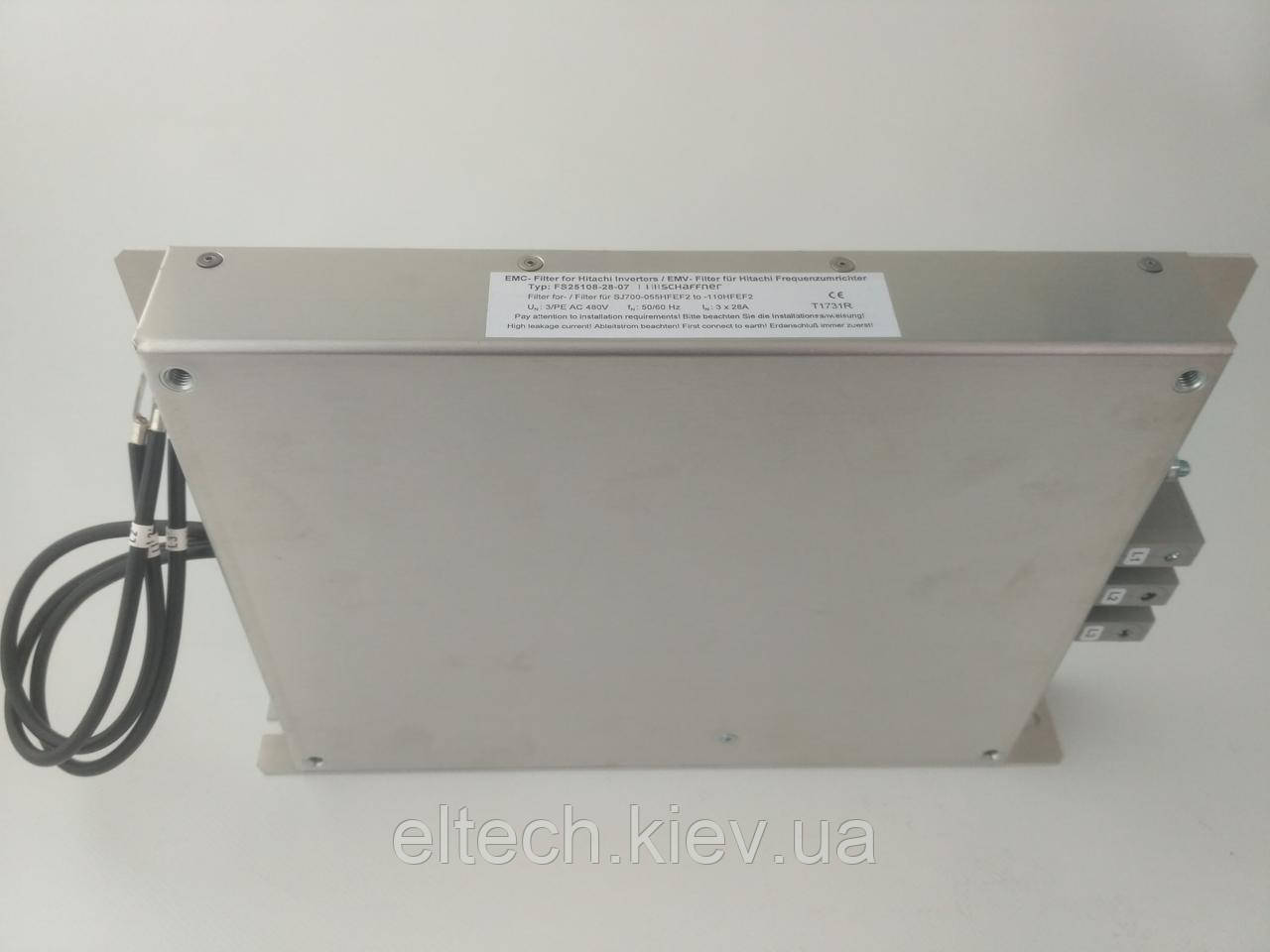 Фильтр сетевой FS25108-28-07 для SJ700D (SJ700)-(055,075,110)HFEF3