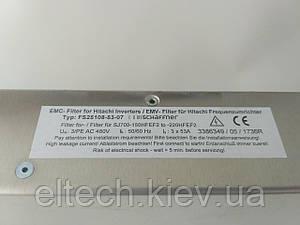 Фильтр для SJ700D-(150,185,220)HFEF3. Фильтр сетевой FS25108-53-07
