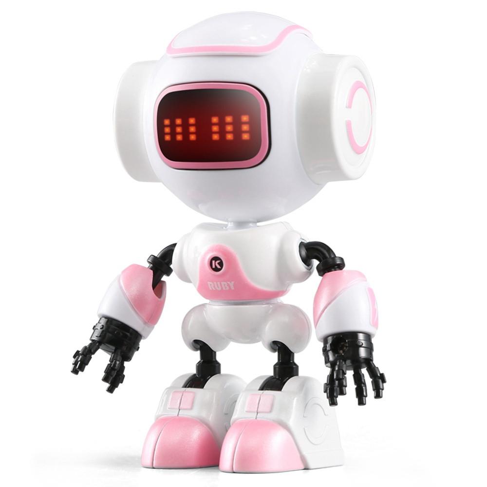 Міні робот-компаньйон JJRC R9 Ruby Luby Біло-рожевий (JJRC-R9R)