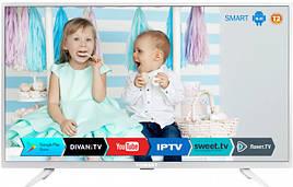 """Телевизор Romsat экран 43"""" 969х567х83 мм SMART TV 43USK1810T2 White"""