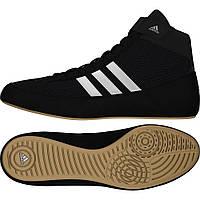 Борцовки Adidas обувь для борьбы Havoc черные